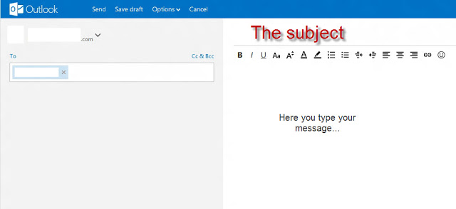 outlook.com compose