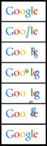 Google Asteroid doodle