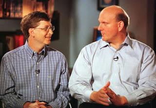 Bill Gates & Steve Ballmer
