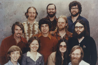 Earliest employees of microsoft