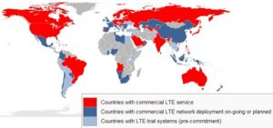 LTE in the world