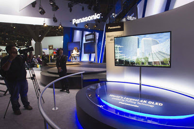 Panasonic's 4K TV