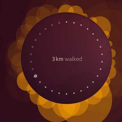 Ubuntu personalized lock screen graphic