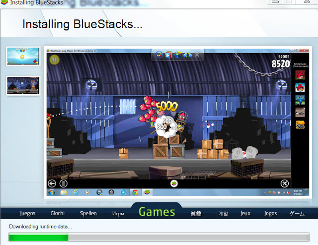 BlueStacks on Win 7 installation 4