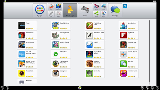 BlueStacks Main window
