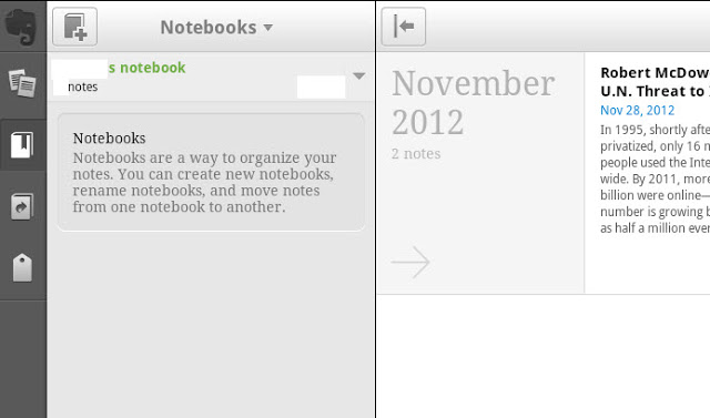 Evernote on BlueStacks