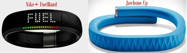 Nike Fuelband and Up