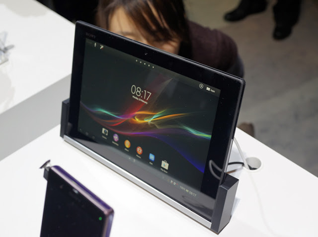 Tablet Z in MWC