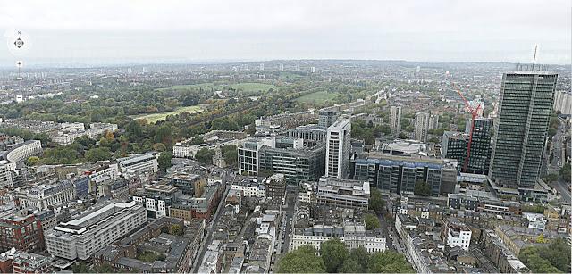 Huge panorama of London