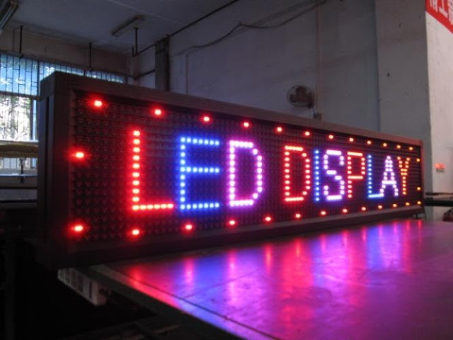 true LED display