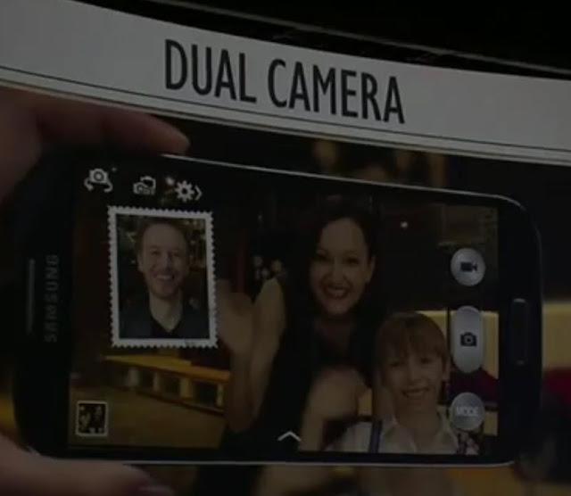 dual camera on Galaxy S IV