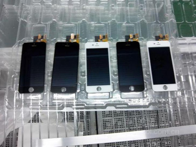 assembly line images of iPhone 5S