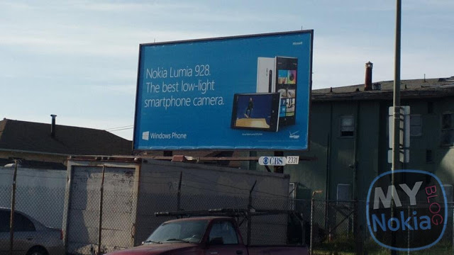 Lumia 928 billboard