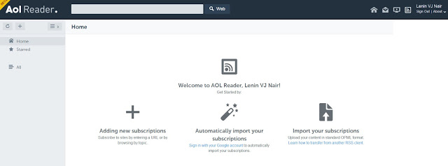 AOL Reader beta