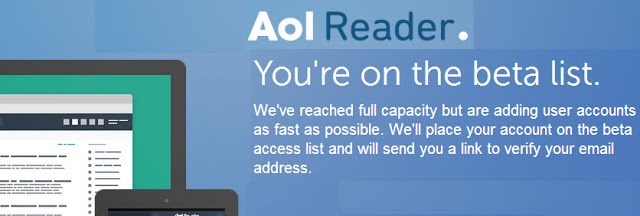 AOL reader beta list