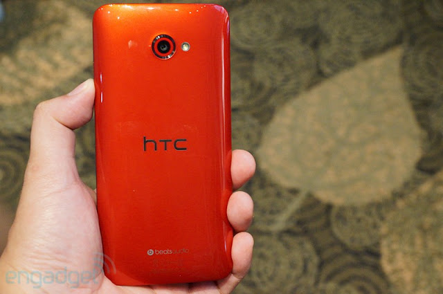 Back of HTC Butterfly S